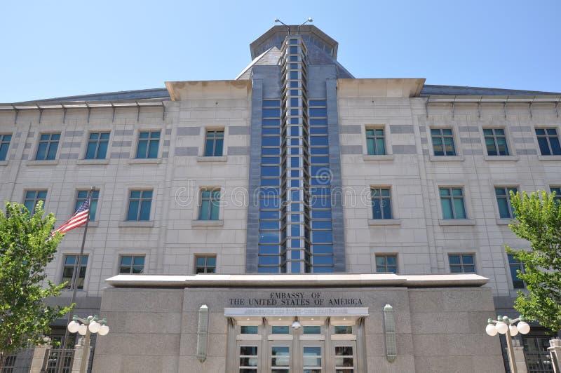 Embajada de Estados Unidos en Ottawa imagen de archivo libre de regalías