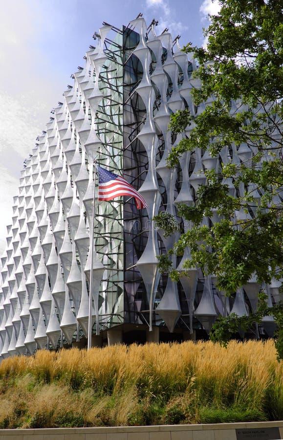 Embajada de Londres los E.E.U.U. imágenes de archivo libres de regalías