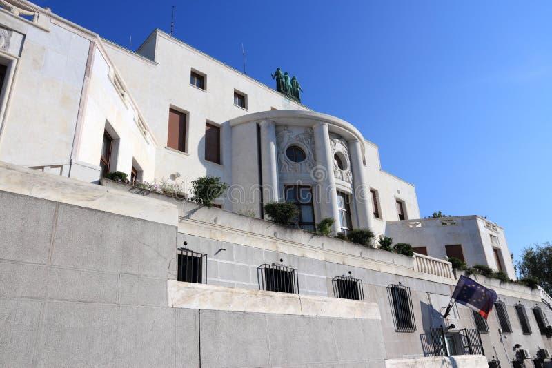 Embajada francesa imágenes de archivo libres de regalías