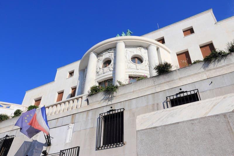 Embajada francesa imagen de archivo libre de regalías