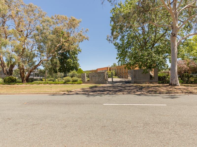 Embajada holandesa Canberra fotos de archivo