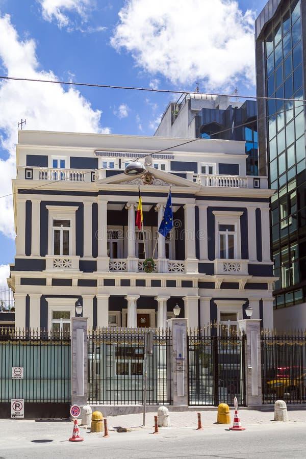 Embajada y consulado de Bélgica en Estambul, foto de archivo