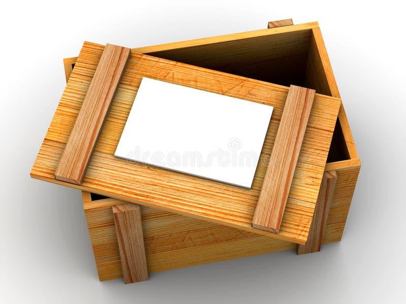Embalaje. 3d stock de ilustración