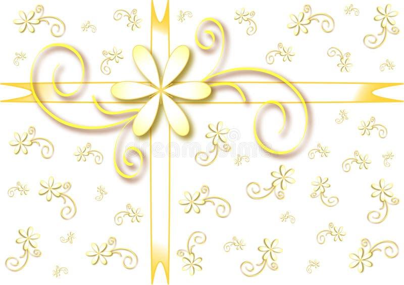 Embalaje de regalo de vacaciones, fondo libre illustration