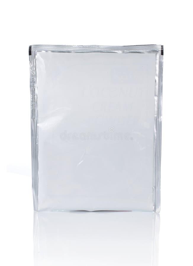 Embalaje del plástico del alimento imagen de archivo libre de regalías