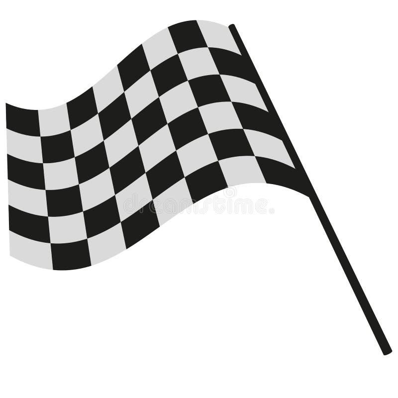 Emballage à carreaux de drapeau illustration libre de droits