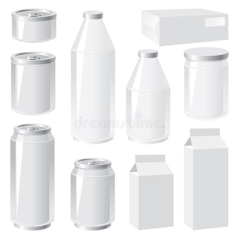 Emballage illustration de vecteur