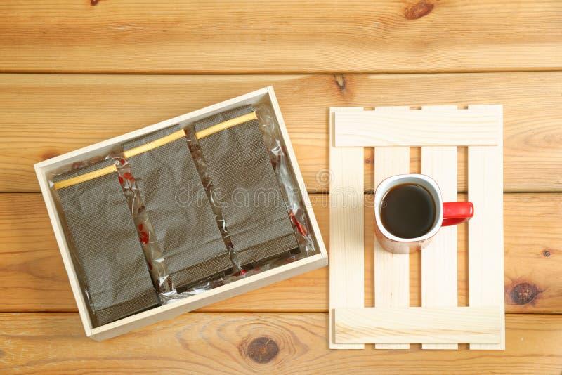 Emballage de café photo libre de droits