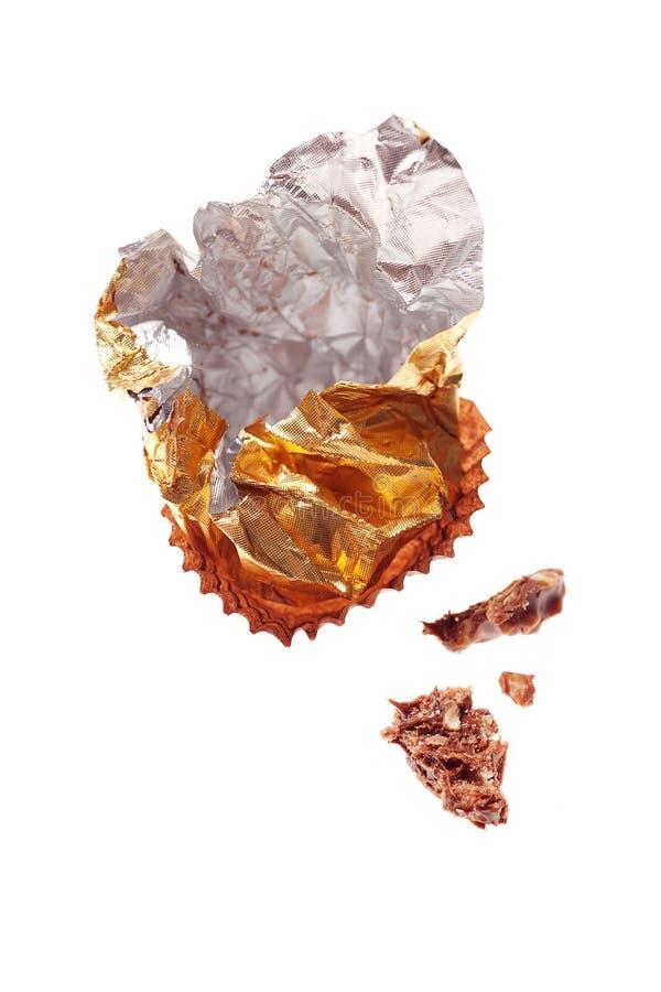 Emballage de chocolat photographie stock libre de droits