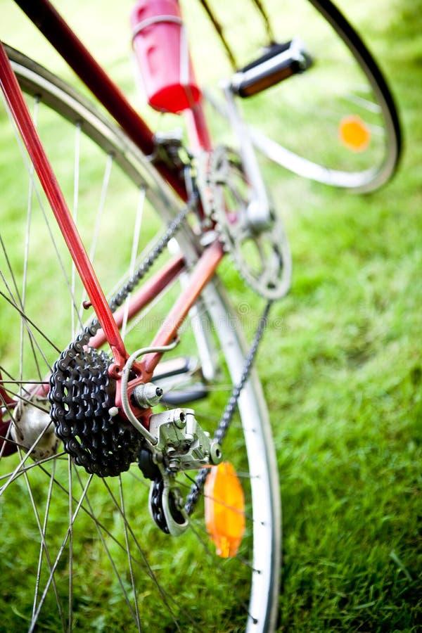 Emballage de la cassette de vélo image libre de droits