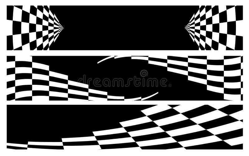 Emballage du drapeau illustration libre de droits