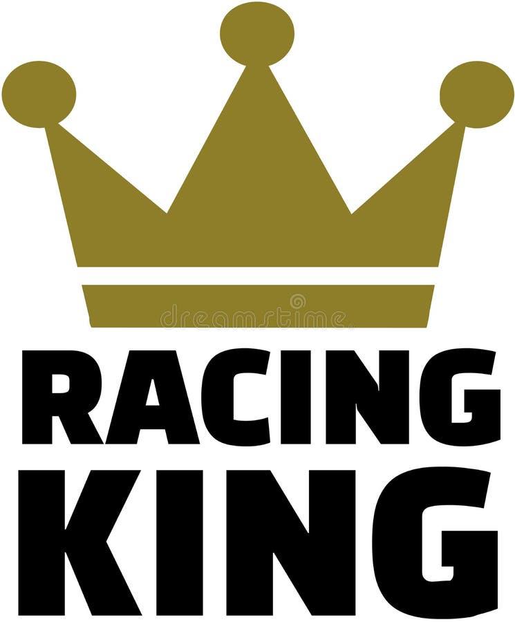Emballage du roi avec la couronne illustration de vecteur