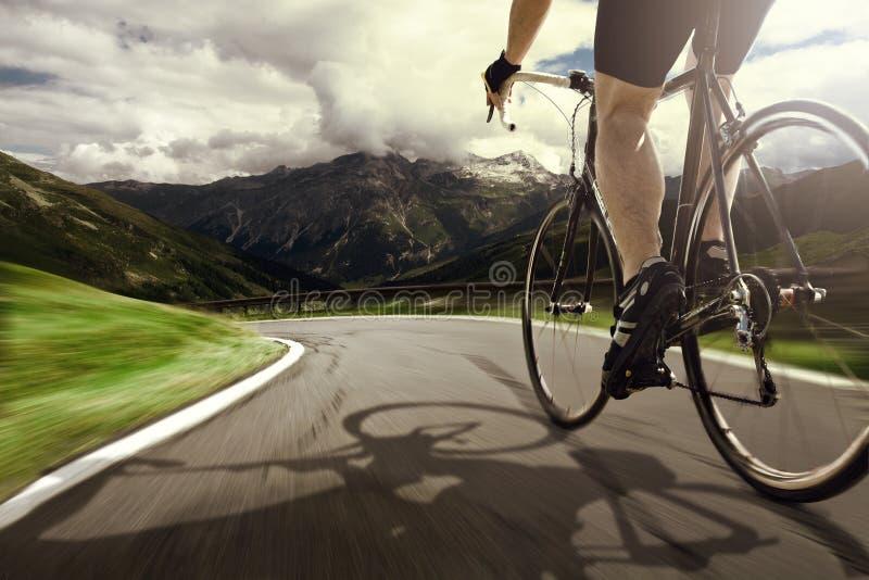 Emballage du vélo images stock