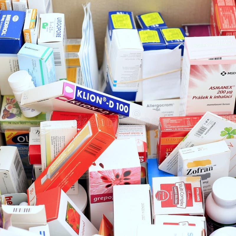 Emballage médical image libre de droits