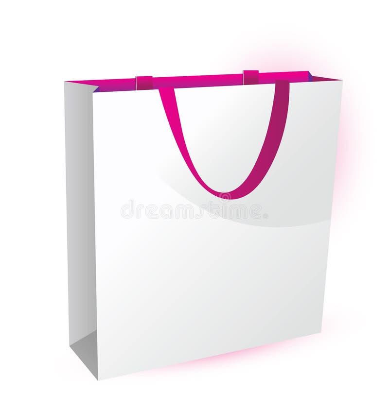 emballage papper för påsepacke royaltyfri illustrationer