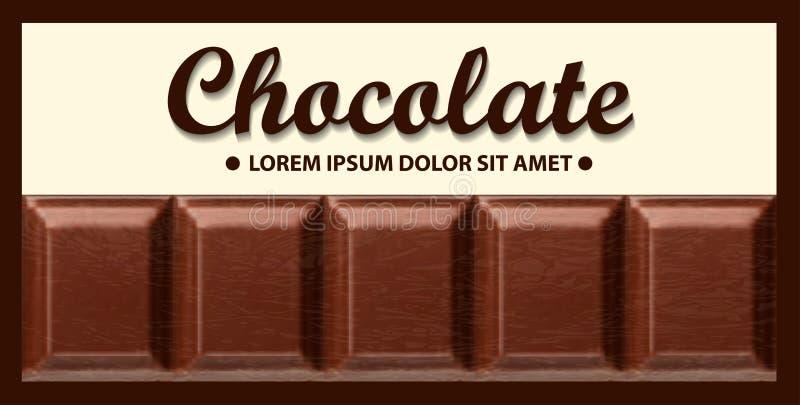 emballage pour le chocolat photo stock
