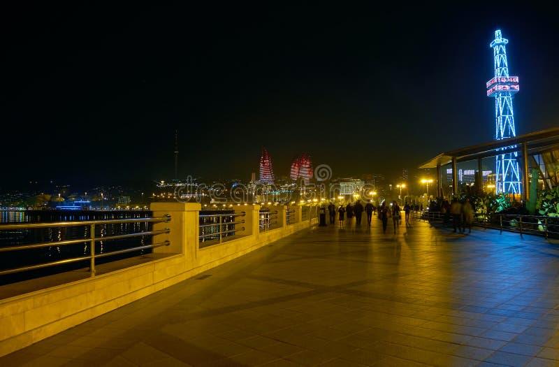 Embankmaet à Bakou images stock