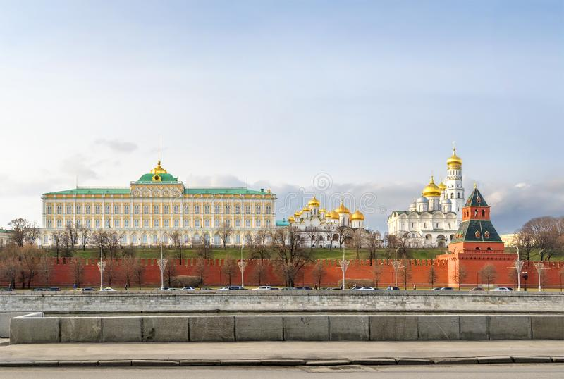 View of the Moscow Kremlin. Russia royalty free stock images