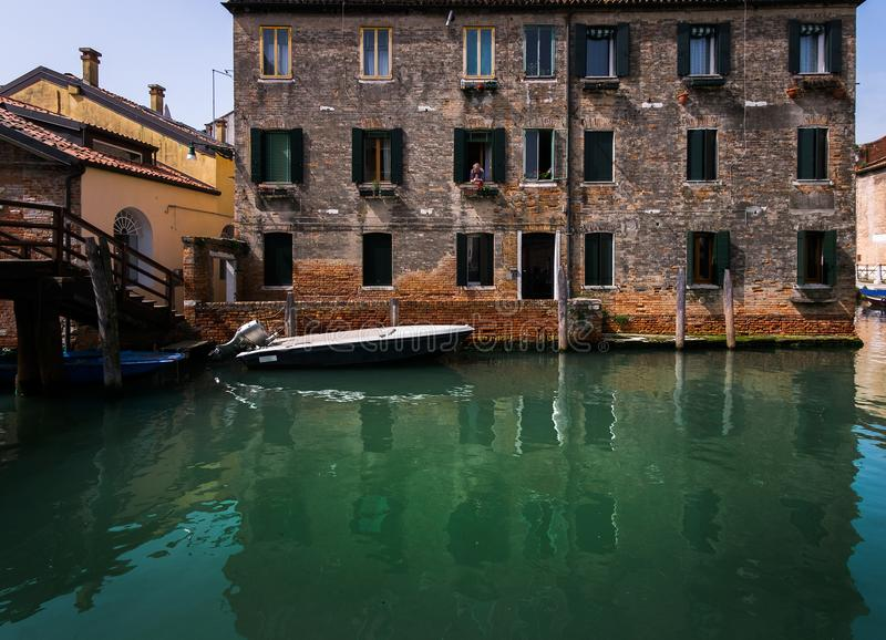 The embankment of Venice. Italy. stock photography