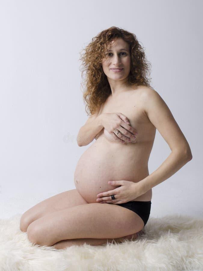 Embarazada foto de archivo