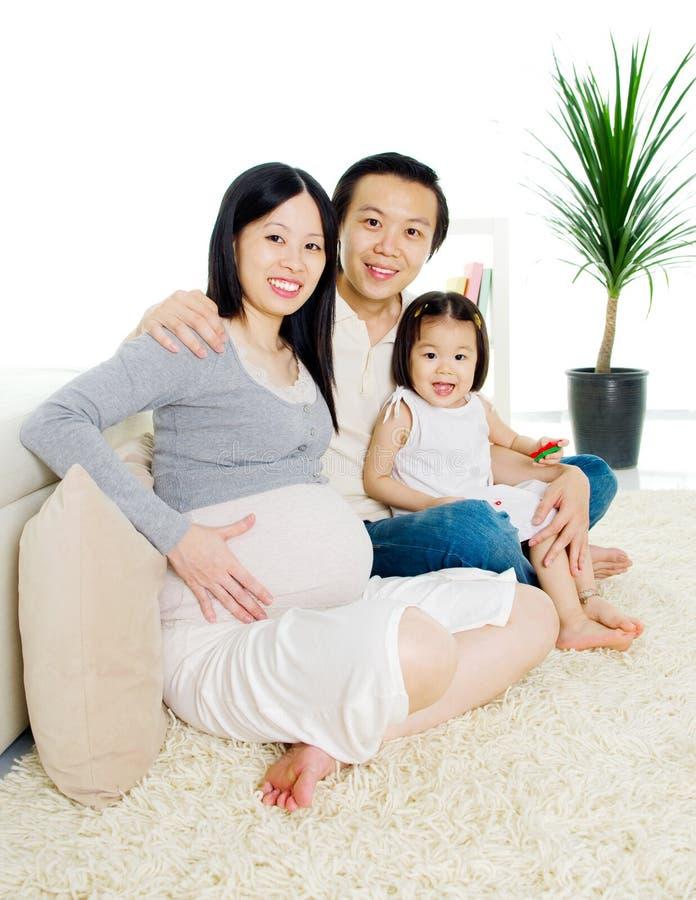 Embarazada imagen de archivo libre de regalías