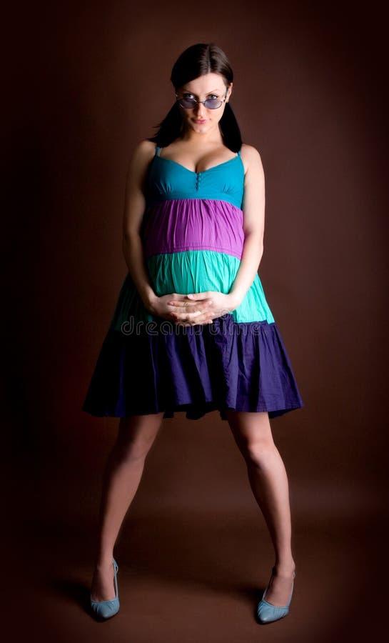 Embarazado fotografía de archivo libre de regalías