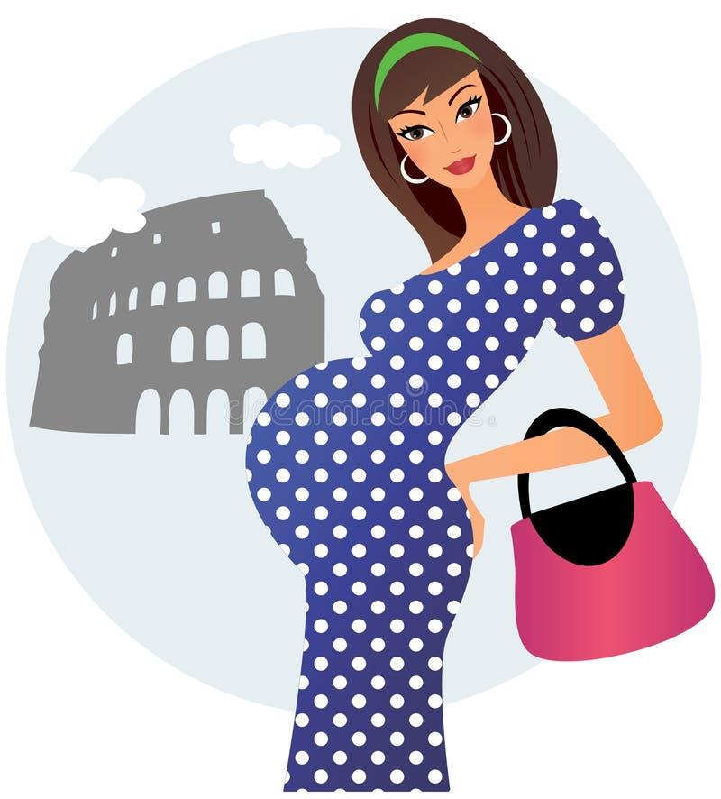 Embarazado en Roma libre illustration