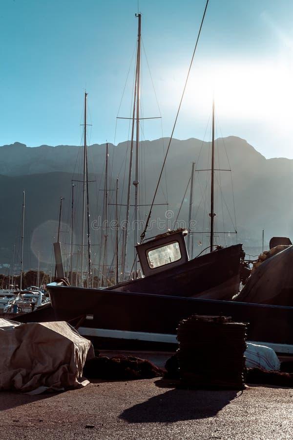 Embarcação de pesca foto de stock