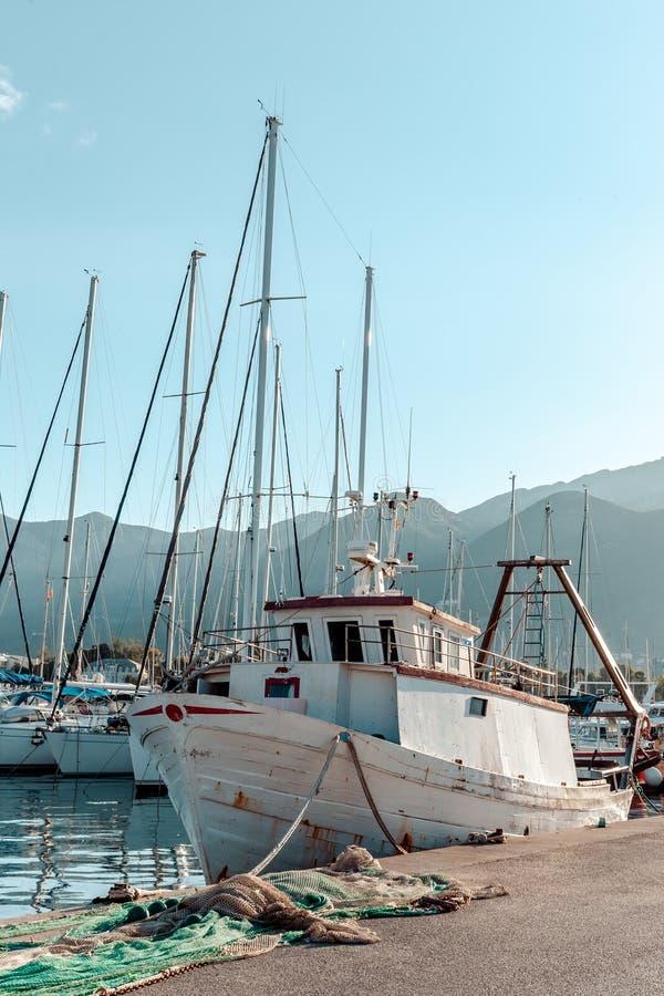 Embarcação de pesca imagem de stock
