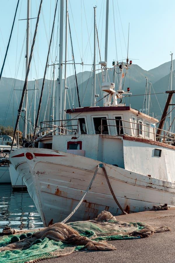 Embarcação de pesca imagem de stock royalty free