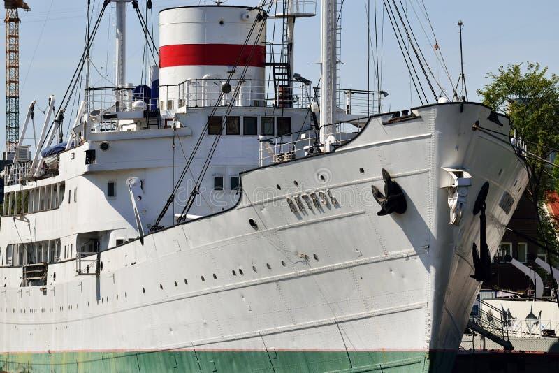 Embarcação de pesquisa Vityaz Kaliningrad, Rússia fotografia de stock royalty free