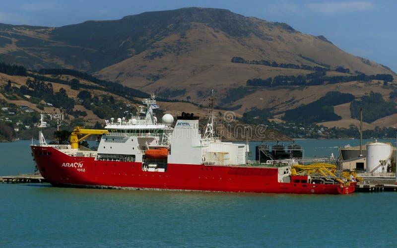 Embarcação do quebra-gelo de Araon imagem de stock royalty free