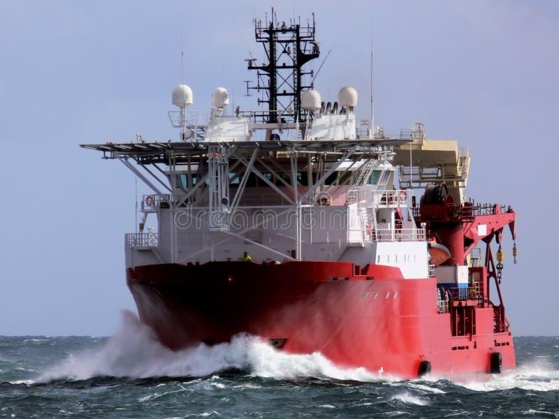 Embarcação a pouca distância do mar C3 foto de stock