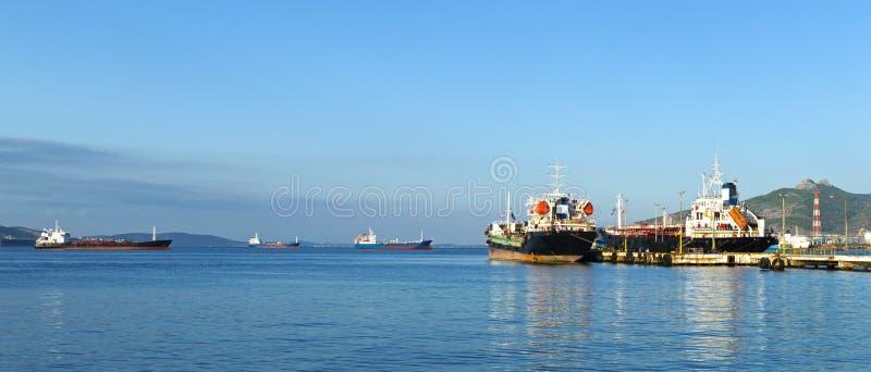 Embarcações de carga fotografia de stock royalty free