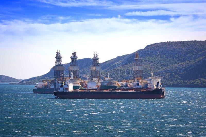 Embarcações de carga fotografia de stock