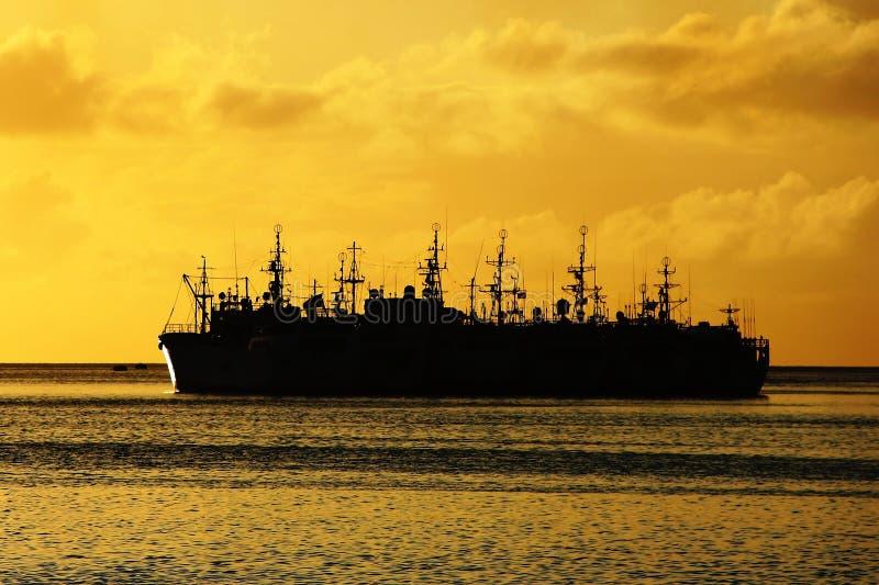Embarcações de pesca foto de stock