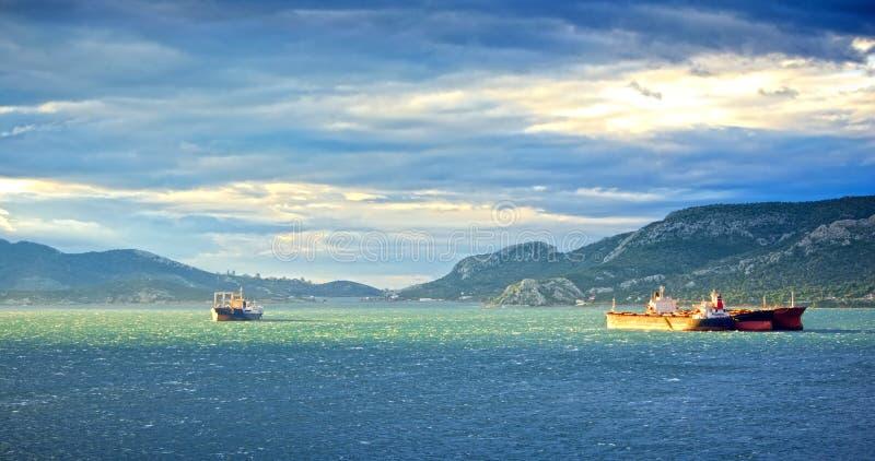 Embarcações velhas fotografia de stock royalty free