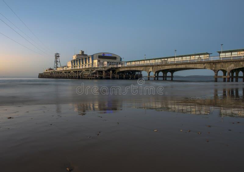 Embarcadero de Bournemouth foto de archivo