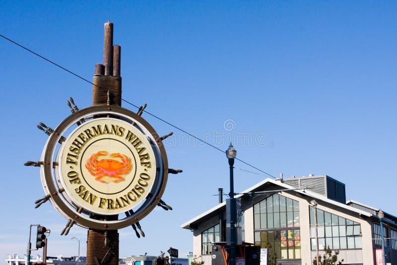 Embarcadero de Fishermans en San Francisco foto de archivo