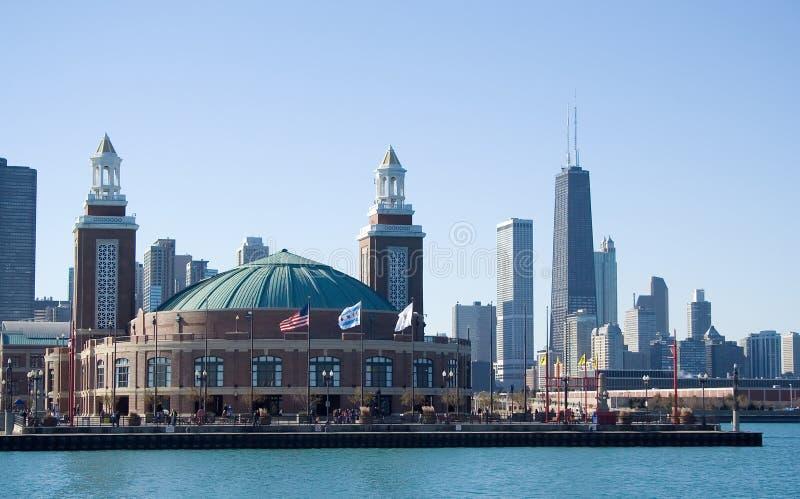 Embarcadero de la marina, Chicago fotos de archivo