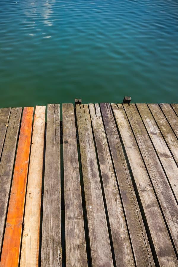 Embarcadero de madera foto de archivo