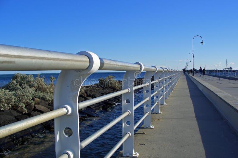Embarcadero de Melbourne imagen de archivo