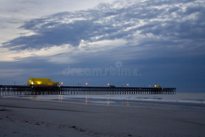 Embarcadero de Myrtle Beach fotos de archivo
