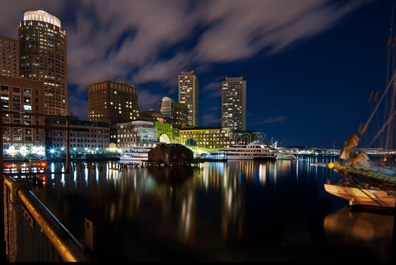 Embarcadero de Rowe en Boston imágenes de archivo libres de regalías