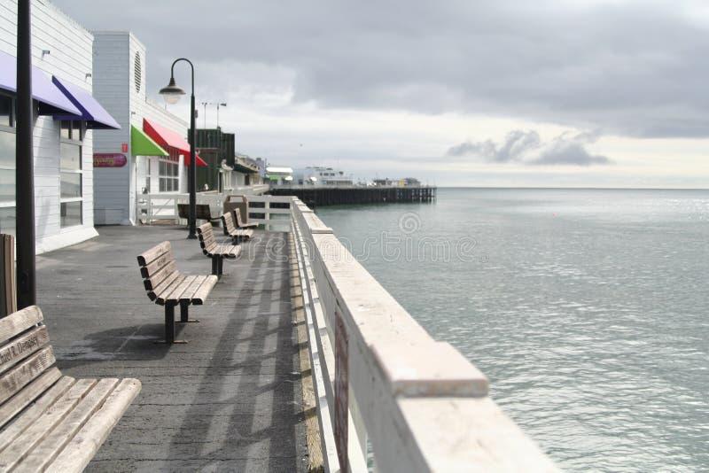 Embarcadero de Santa Cruz imagenes de archivo