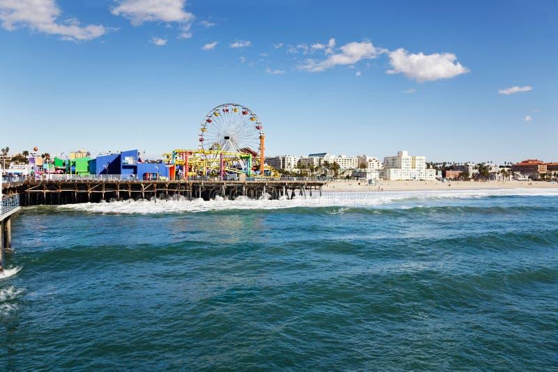 Embarcadero de Santa Mónica foto de archivo libre de regalías