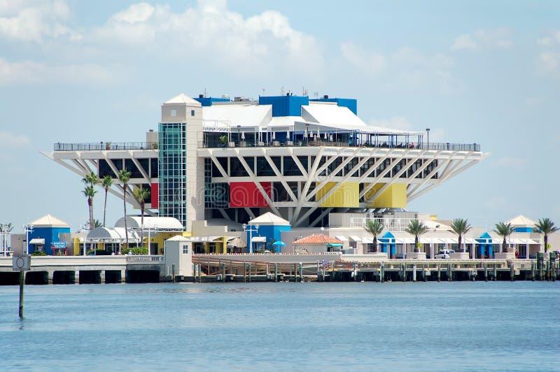 Embarcadero en St Petersburg la Florida imágenes de archivo libres de regalías