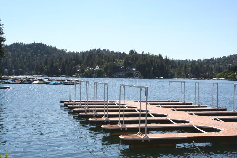 Embarcadero, punta de flecha del lago fotos de archivo libres de regalías