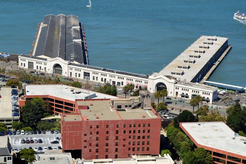 Embarcadero 39 San Francisco imagen de archivo