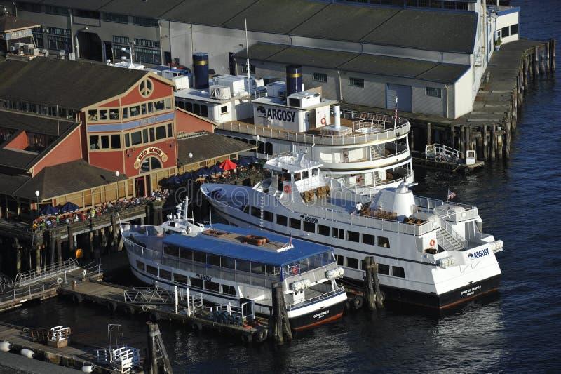 Embarcadero 55, Seattle, los E.E.U.U. imagenes de archivo